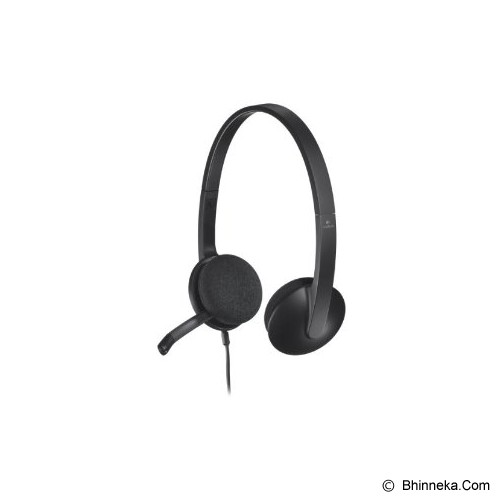 LOGITECH USB Headset H340 [981-000477] - Headset Pc / Voip / Live Chat
